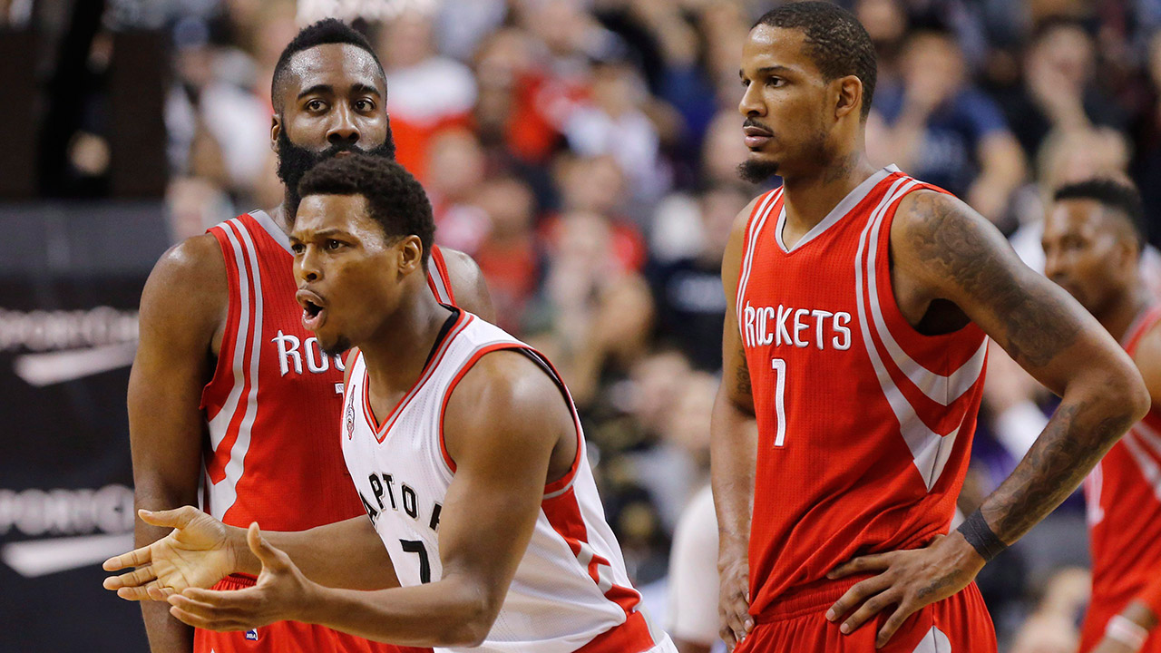 Toronto Raptors; Kyle Lowry; Houston Rockets; Trevor Ariza; NBA