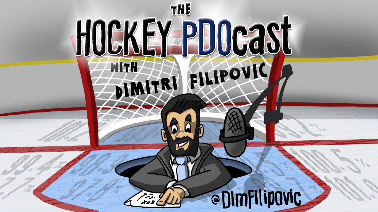The Hockey PDOcast; Dimitri Filipovic; NHL; Sportsnet; analytics; podcast