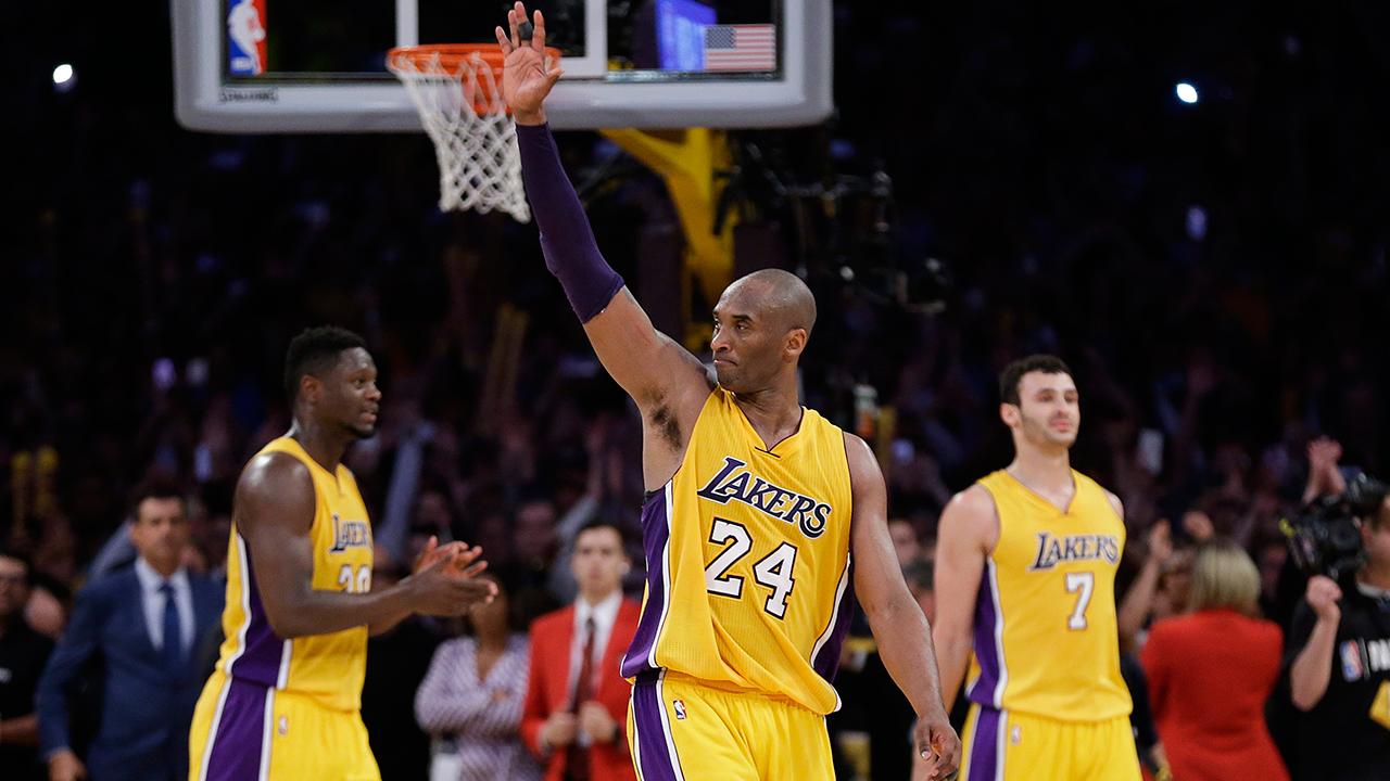 Lakers to retire Kobe Bryant's Nos. 8, 24 on Dec. 18