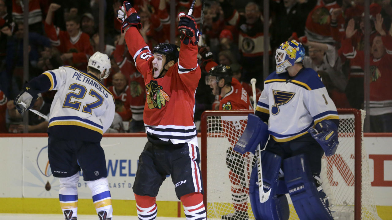 Are The Blues Doomed To Repeat History Against Blackhawks?