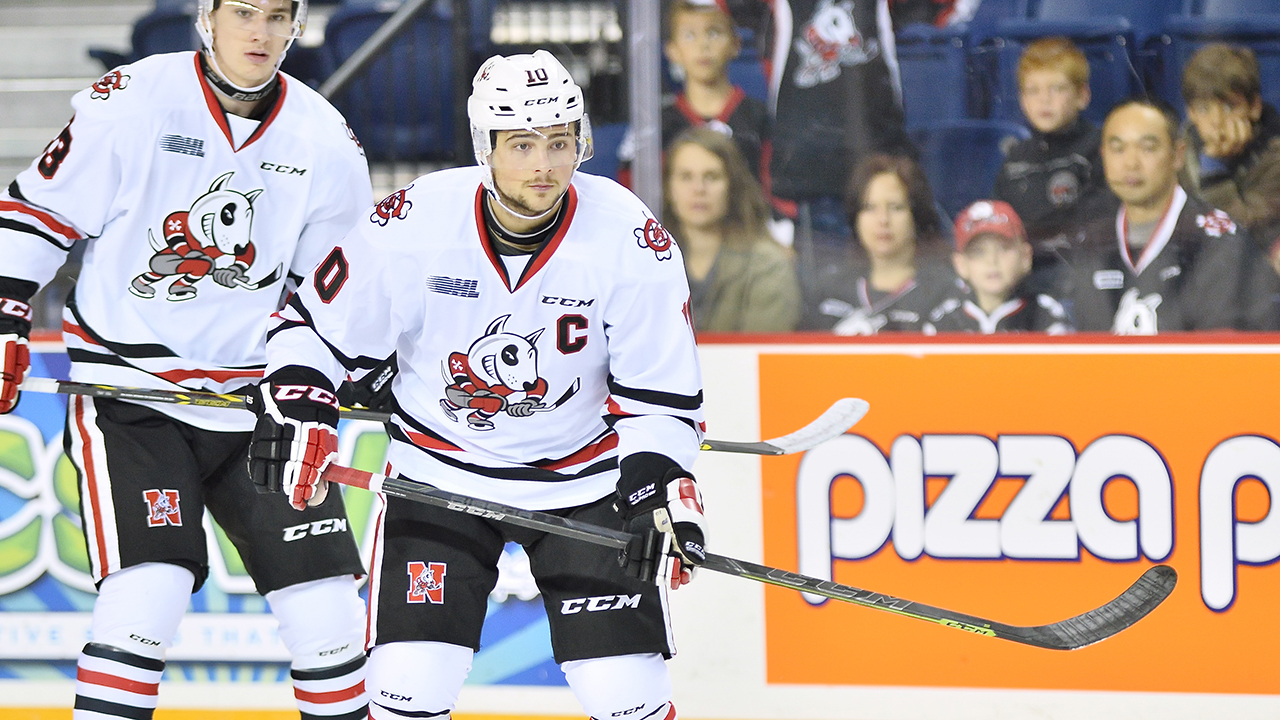 OHL: Playoffs - DiFruscia Gives IceDogs 2-0 Edge Over Frontenacs