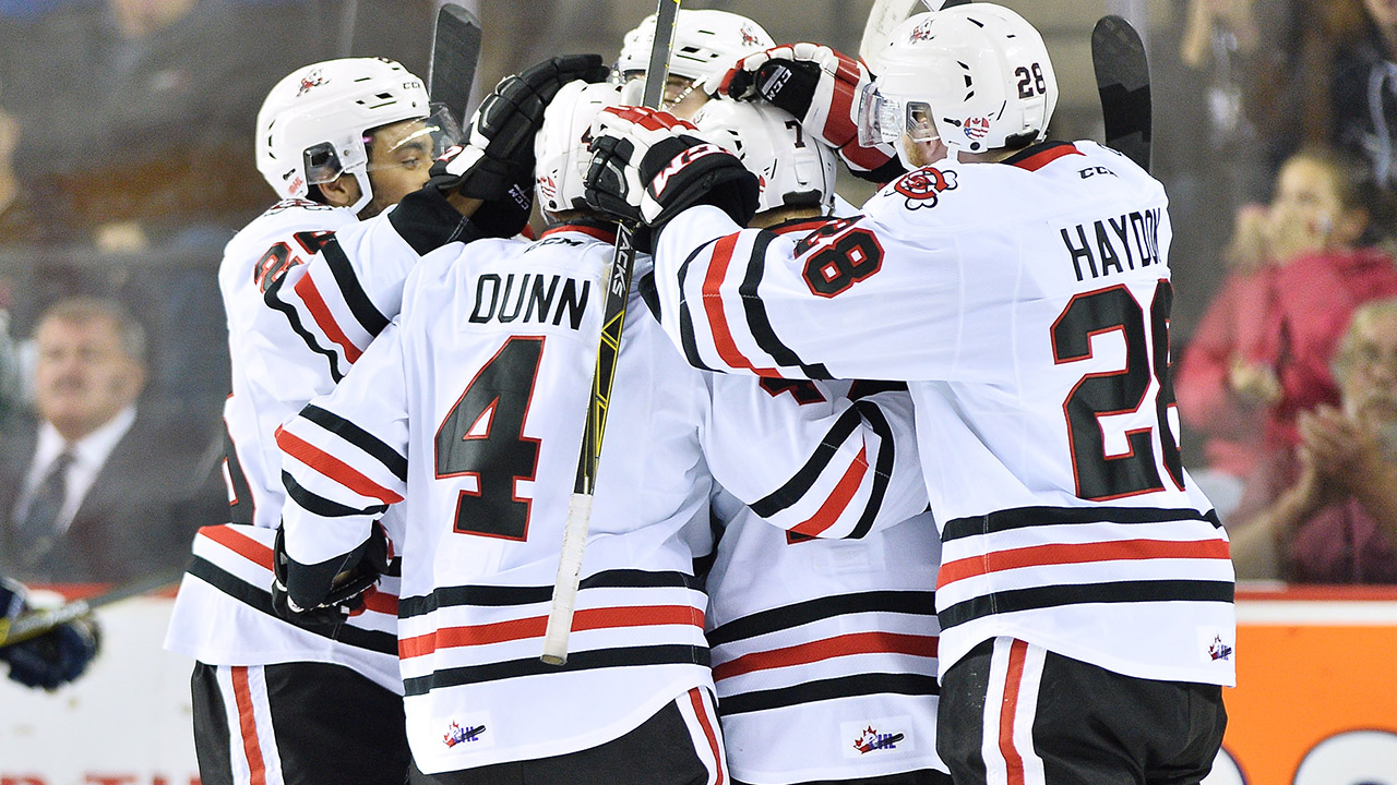OHL: Playoffs - IceDogs Put Stranglehold On Fronts; Knights Win Again