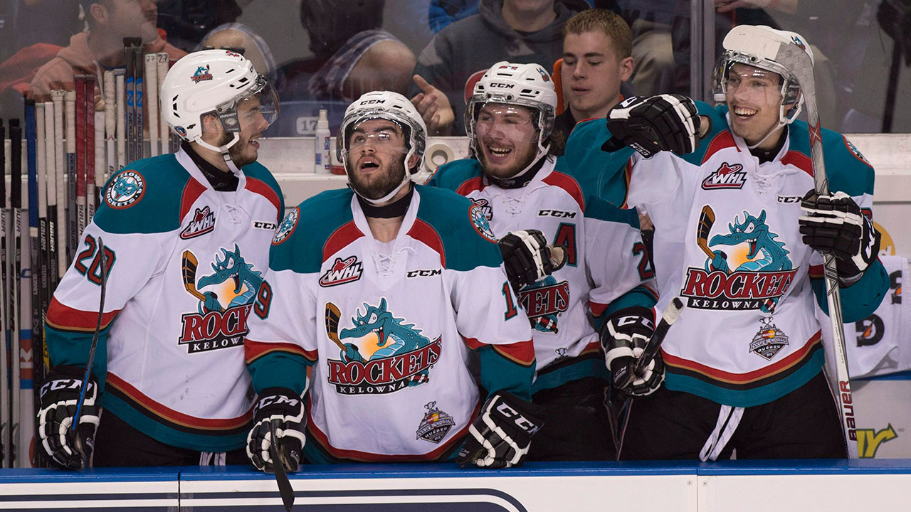 WHL: Playoffs - Rockets Double Up Winterhawks In Game 1
