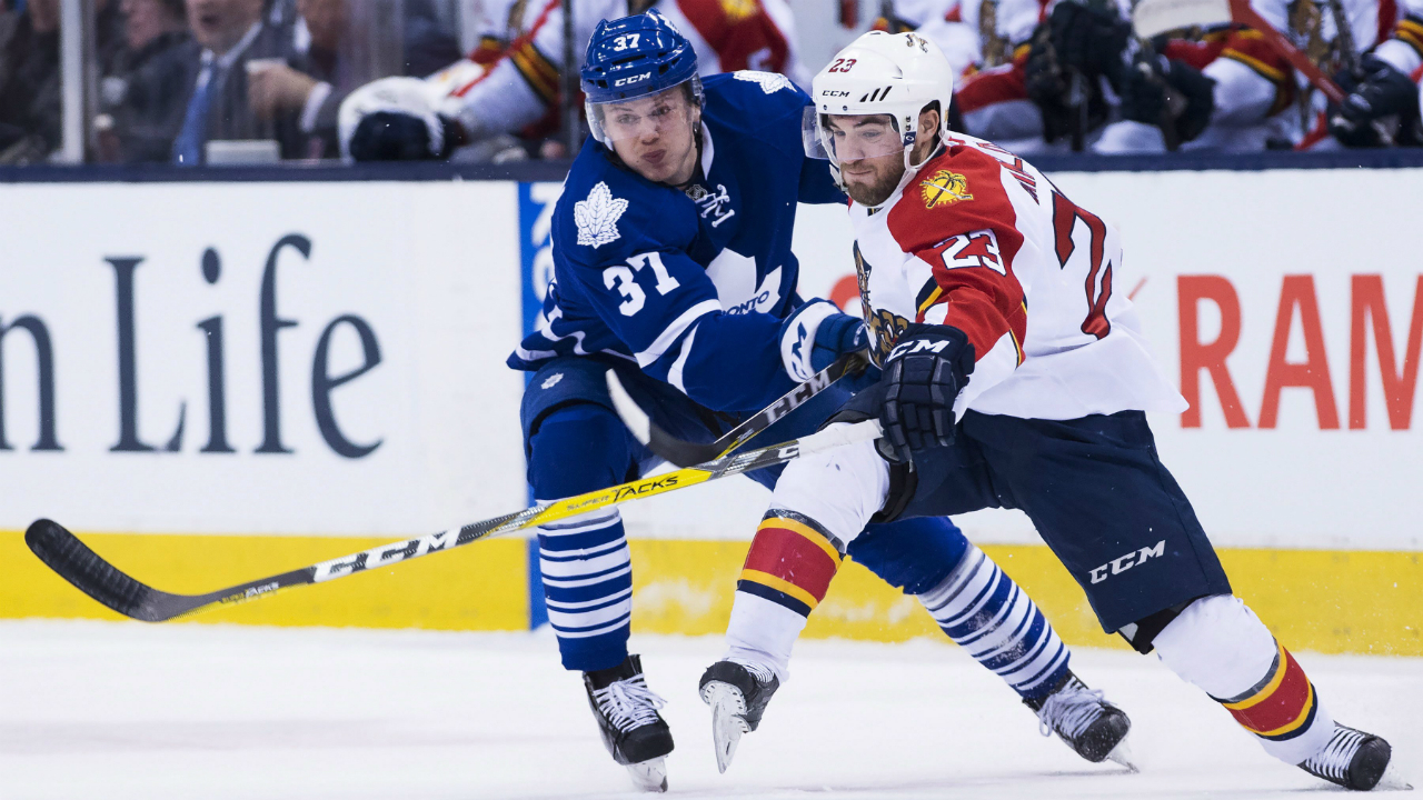 Leafs And Panthers Once Together In Basement, Now Miles Apart
