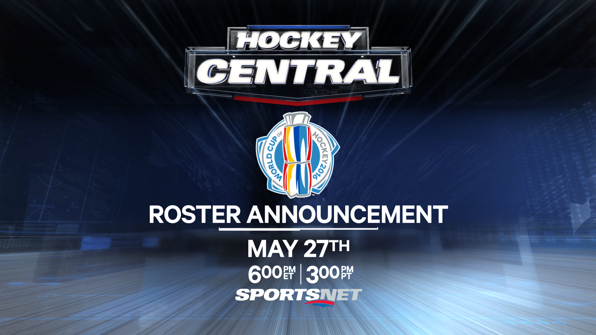 Hockey Central World Cup of hockey roster announcement.