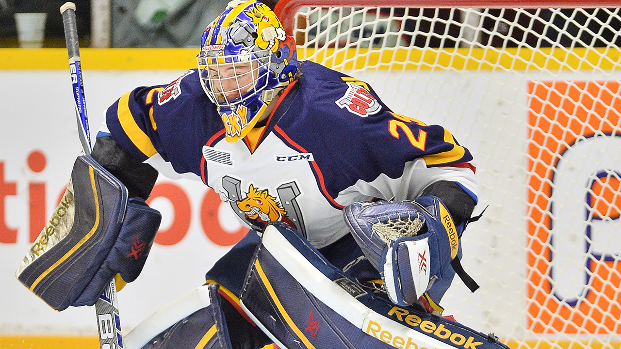 OHL: Colts' Blackwood Named League's Goalie Of The Year