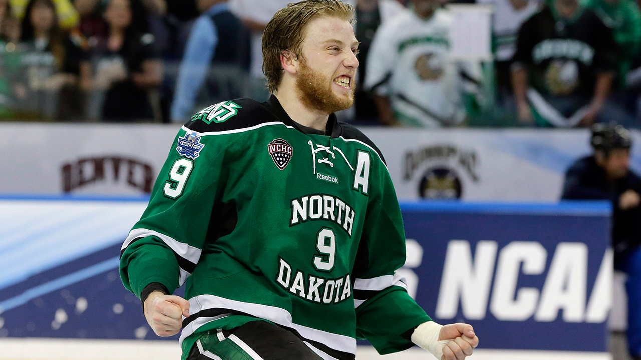 NCAA: Source - Collegiate Free Agent Drake Caggiula To Sign With Edmonton Oilers