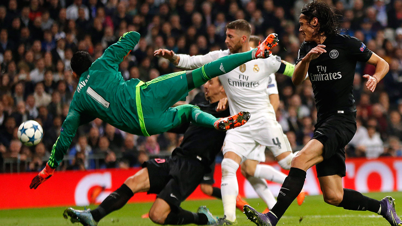 Keylor Navas -- On the verge of a move to Manchester United this past summer, Navas has made the most of his opportunity with Real in 2015-16. In 10 Champions League appearances throughout this campaign, the Costa Rican has yet to allow a goal.