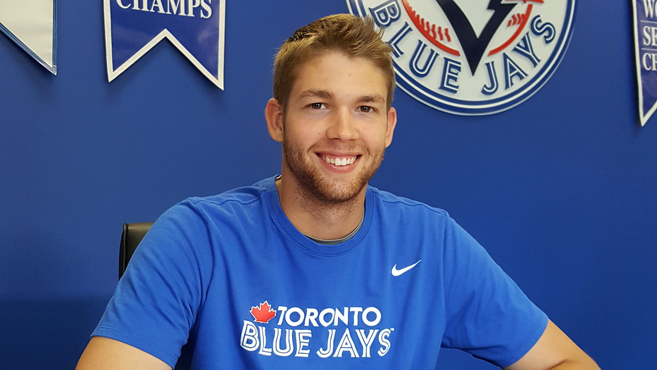 Blue Jays prospect T.J. Zeuch grabbing some spotlight in double-A