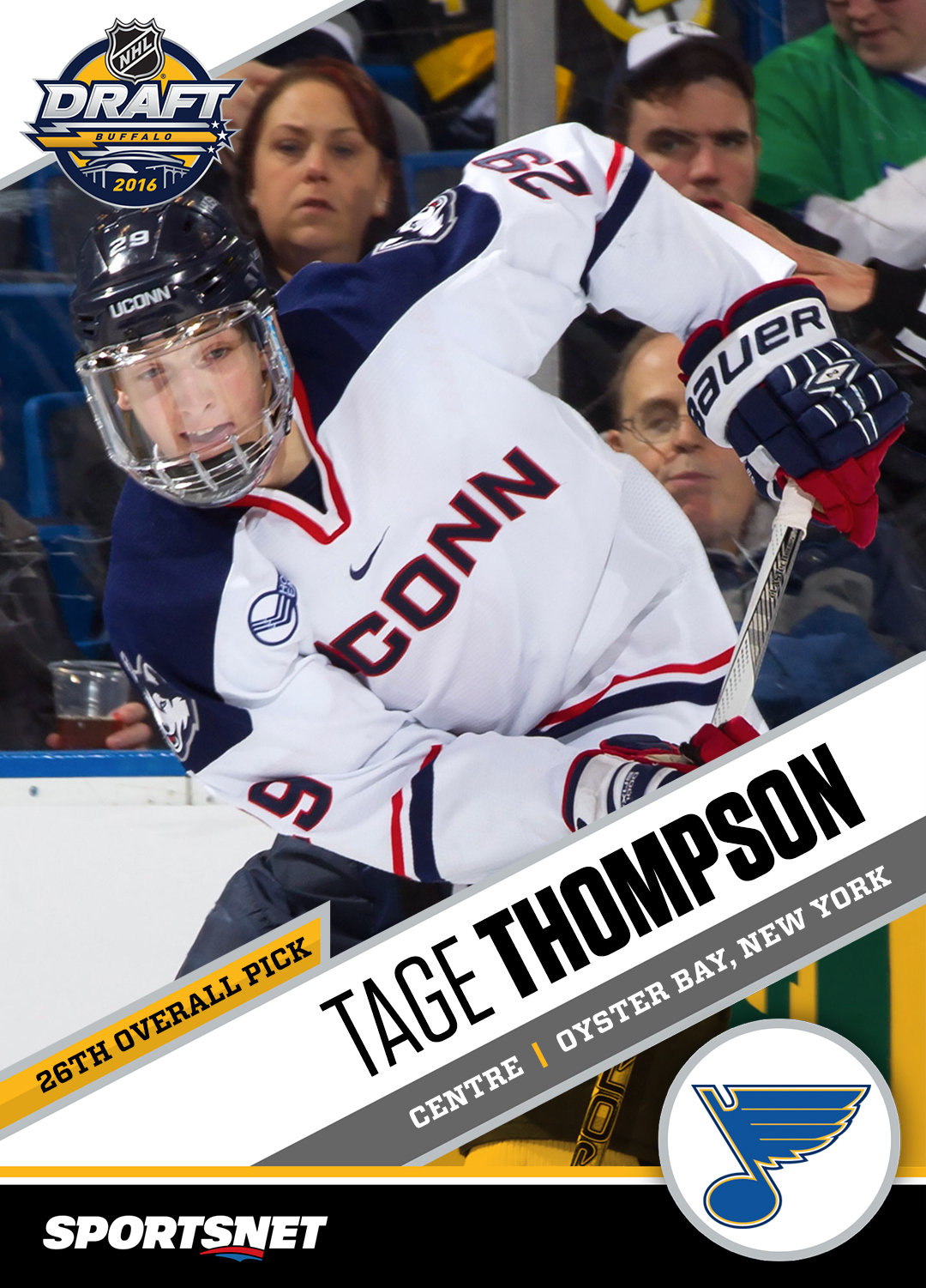 Prospect of Interest  The 411 on Tage Thompson - Sportsnet.ca bfe617ea2