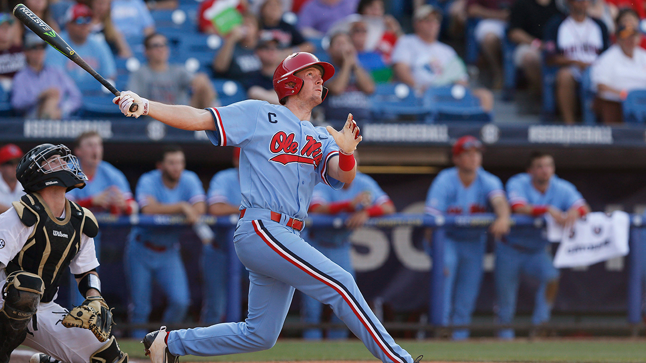 The Blue Jays selected Mississippi's J.B. Woodman 57th overall on Thursday. (Brynn Anderson/AP)
