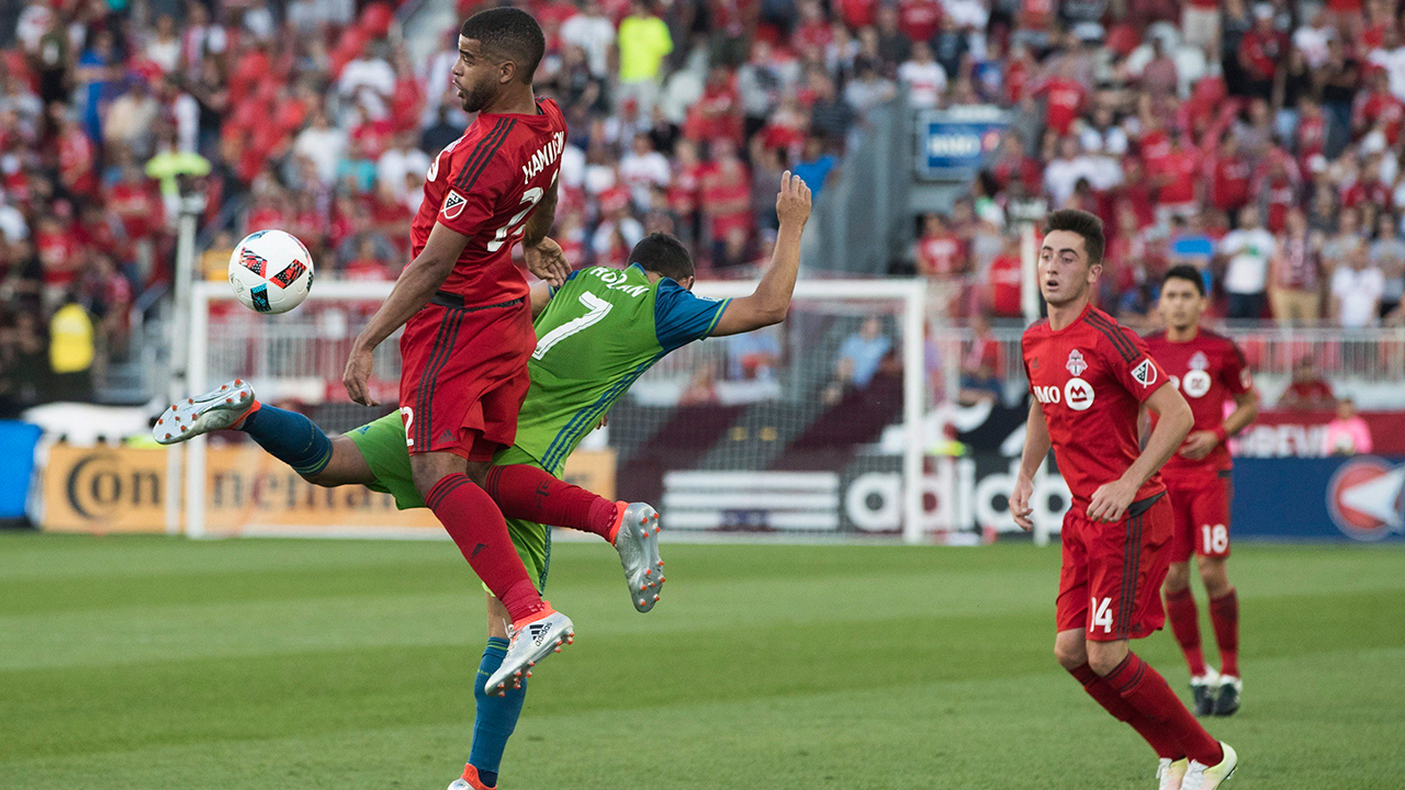 Listen to TFC Pitchside: 1-on-1 with Jordan Hamilton