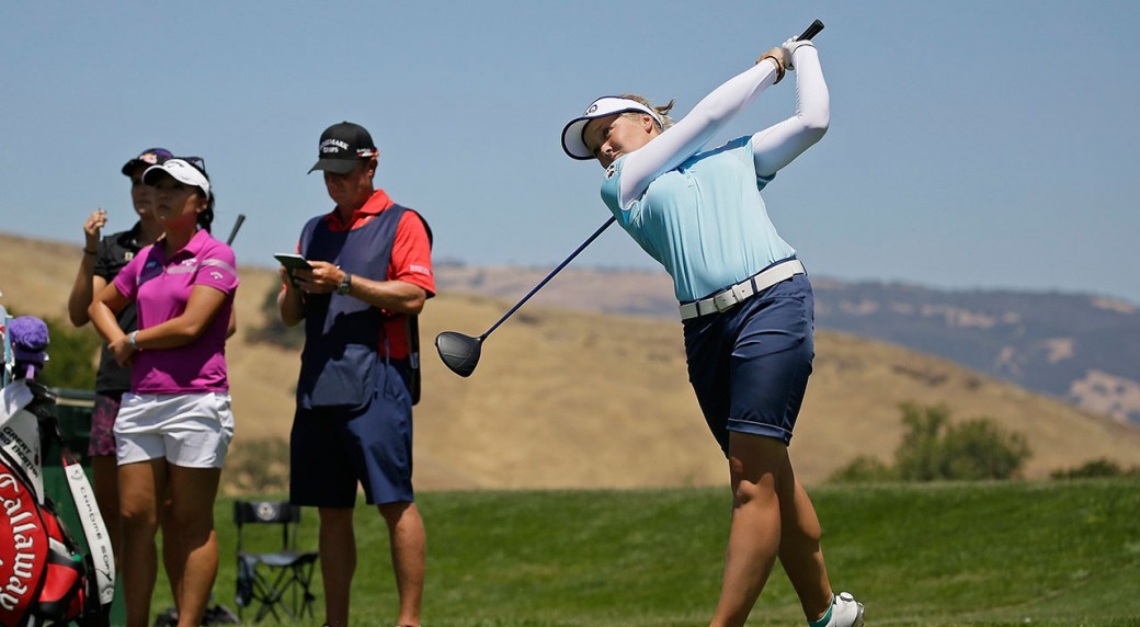 Mirim Lee ties record with 8-under at U.S. Women's Open
