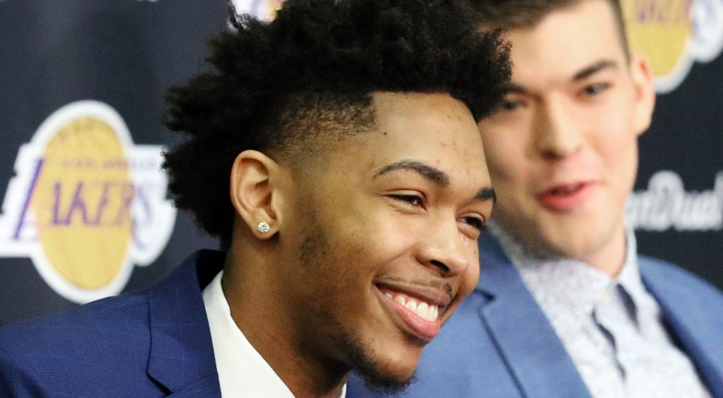 25a03e2efaf8 Lakers  Brandon Ingram not fazed by Kobe s legacy - Sportsnet.ca