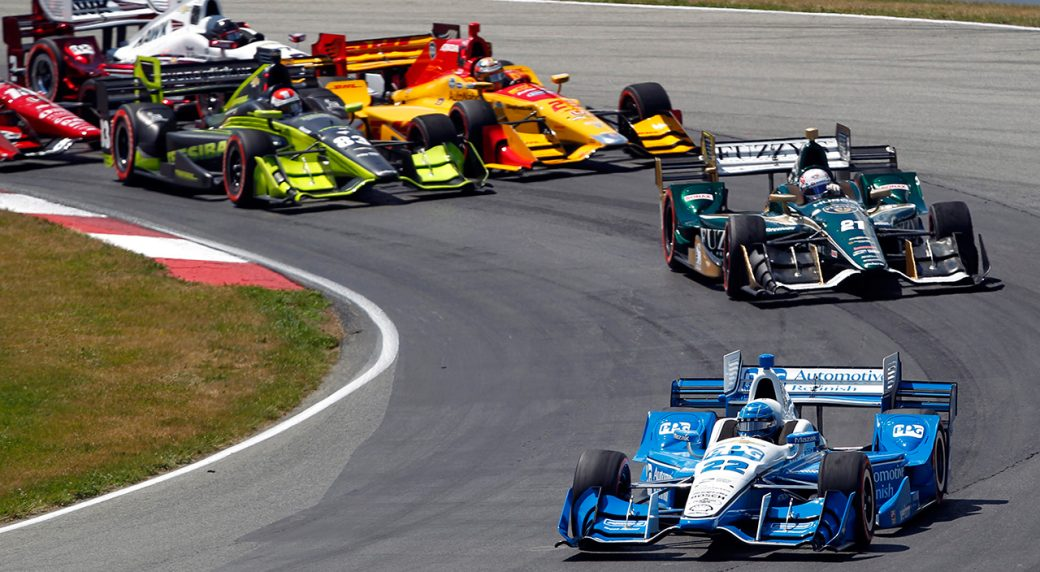 pagenaud takes advantage of late pit stop to win at mid ohio. Black Bedroom Furniture Sets. Home Design Ideas