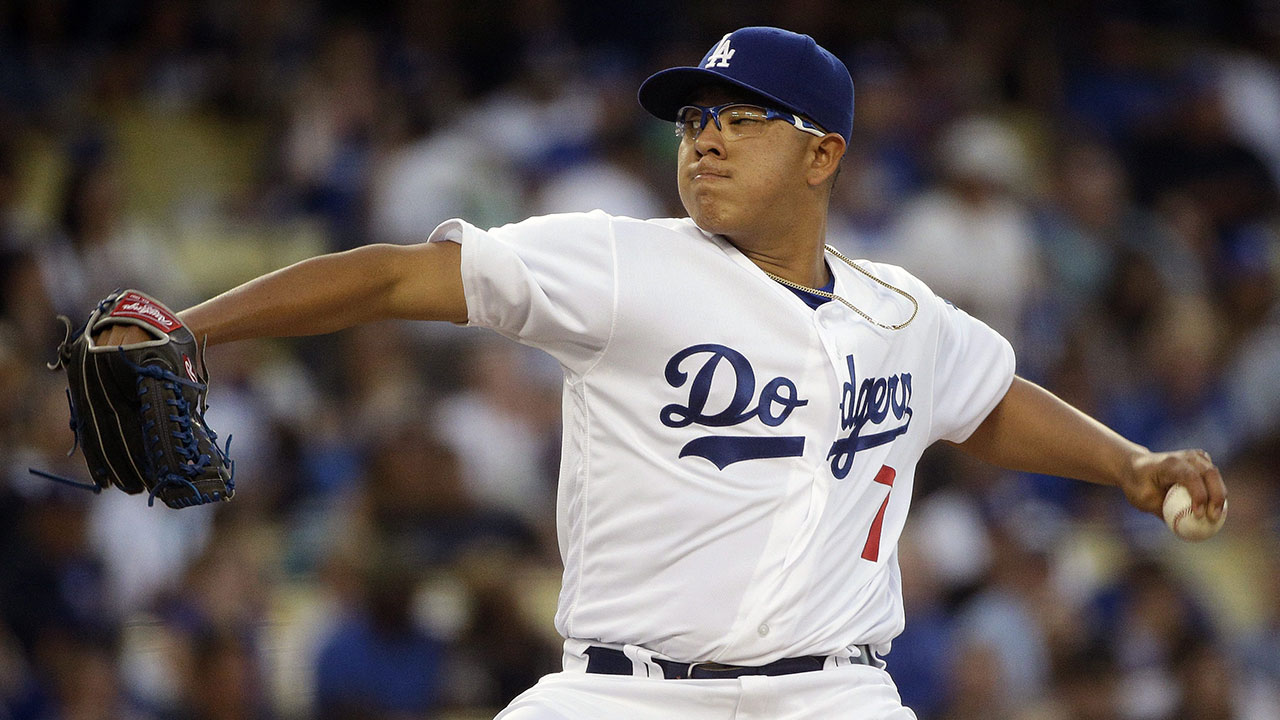 dodgers send down julio urias recall luis avilan