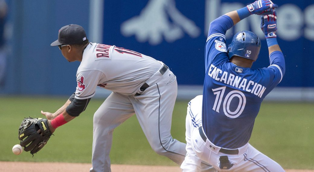 Indians power past Blue Jays