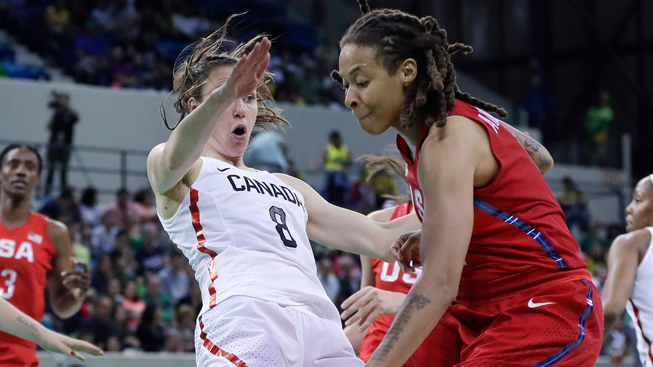 Kia Nurse scores just three points as USA beats Canada by ...
