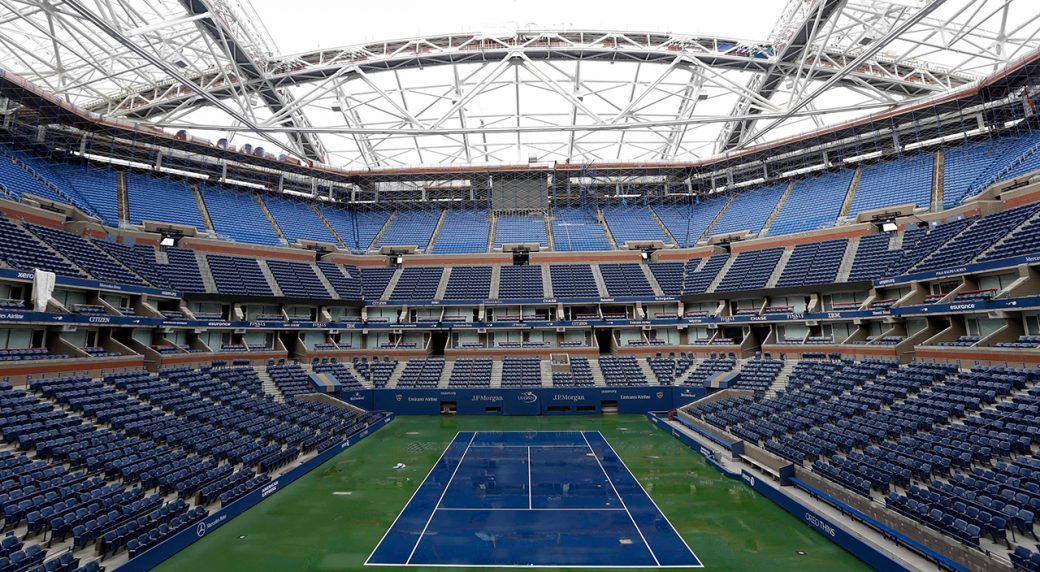 New Retractable Roof Ready For Start Of U S Open