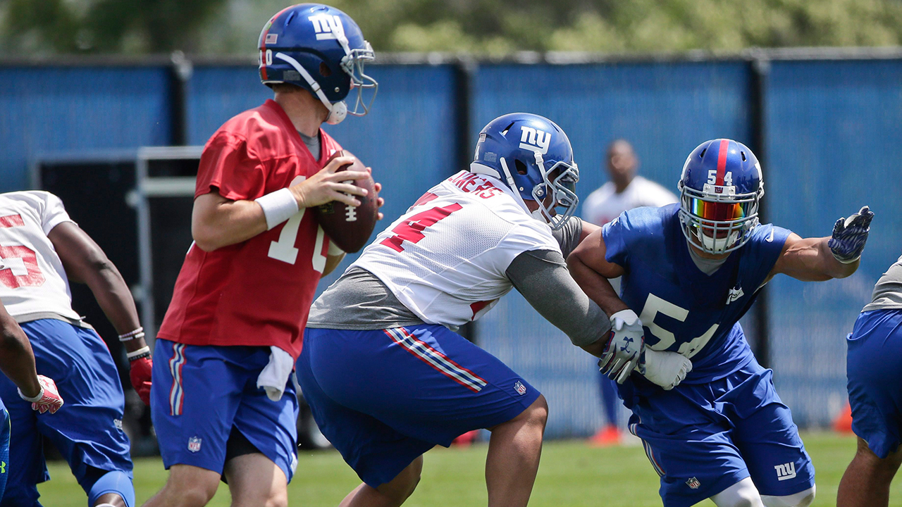 Giants rule out five starters vs. Broncos with injuries