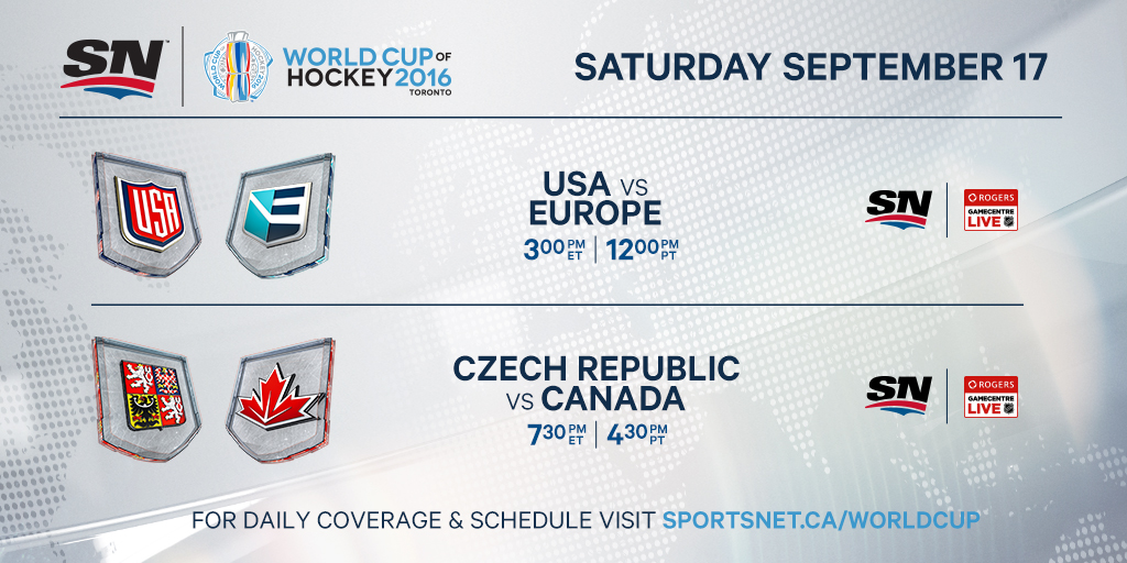 Rebooted World Cup Of Hockey To Be An Unpredictable Spectacle Sportsnet Ca