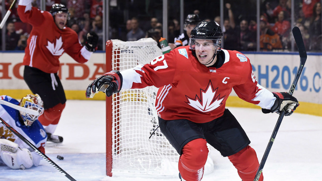 Sidney crosby has been surrounded by the best hockey players on the