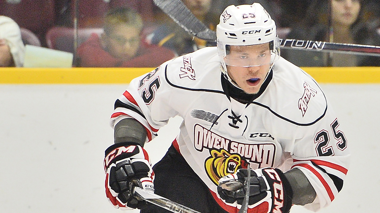 OHL: Roundup - Palmu Scores 11th Of Season In Attack Victory