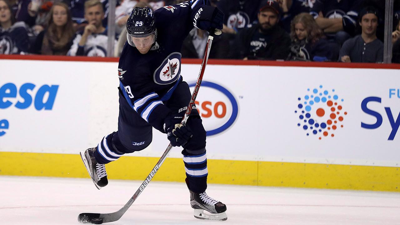 33b11de1e6e Laine nets hat trick as Jets rally for OT win over Maple Leafs -  Sportsnet.ca