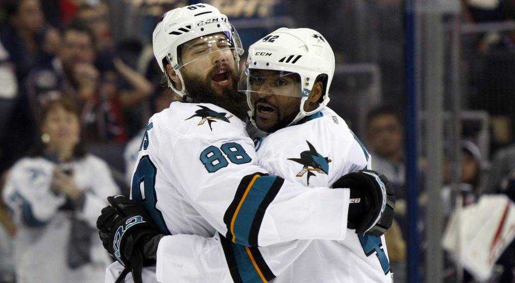 Sharks' Joel Ward could bring anthem protests to National Hockey League