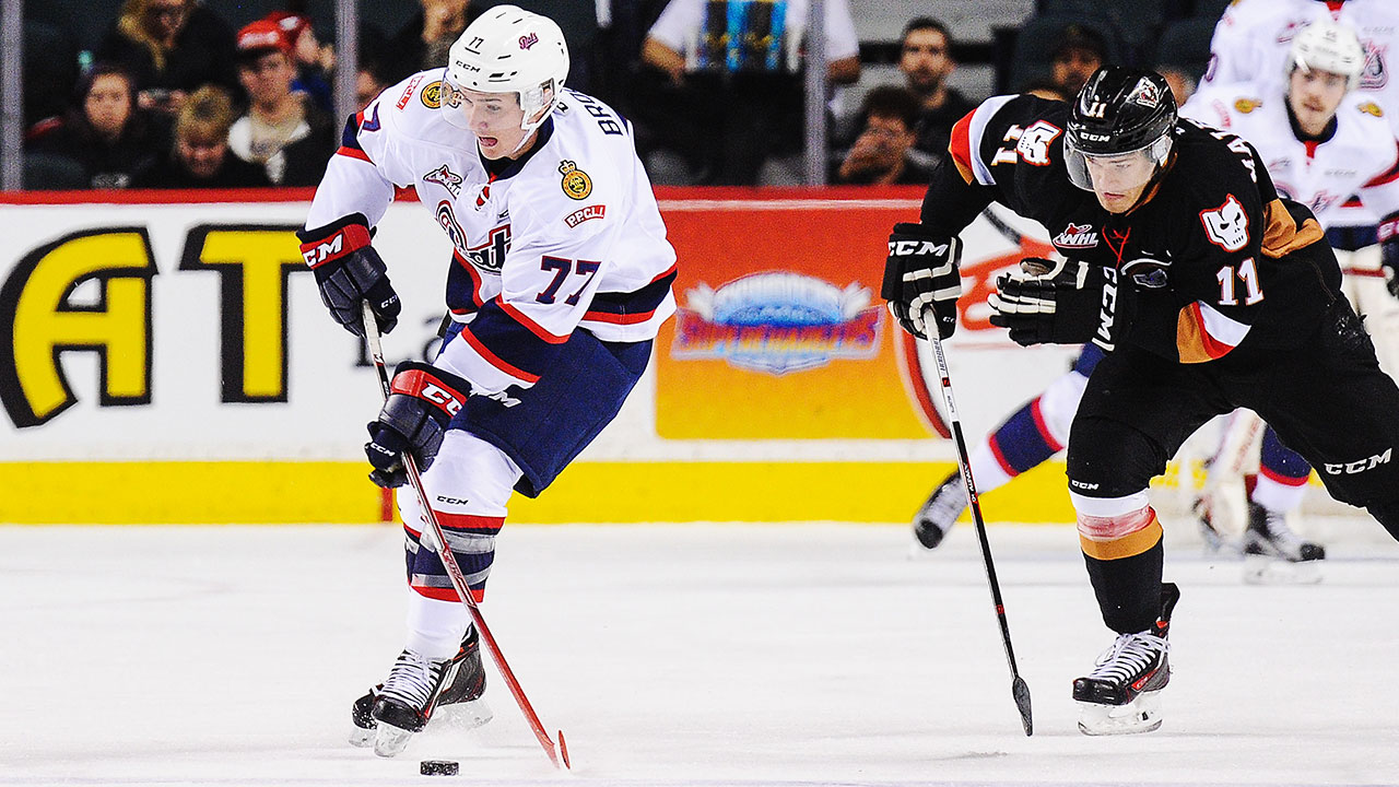 WHL: Roundup - Brooks Adds To League-leading Point Total In Pats Win