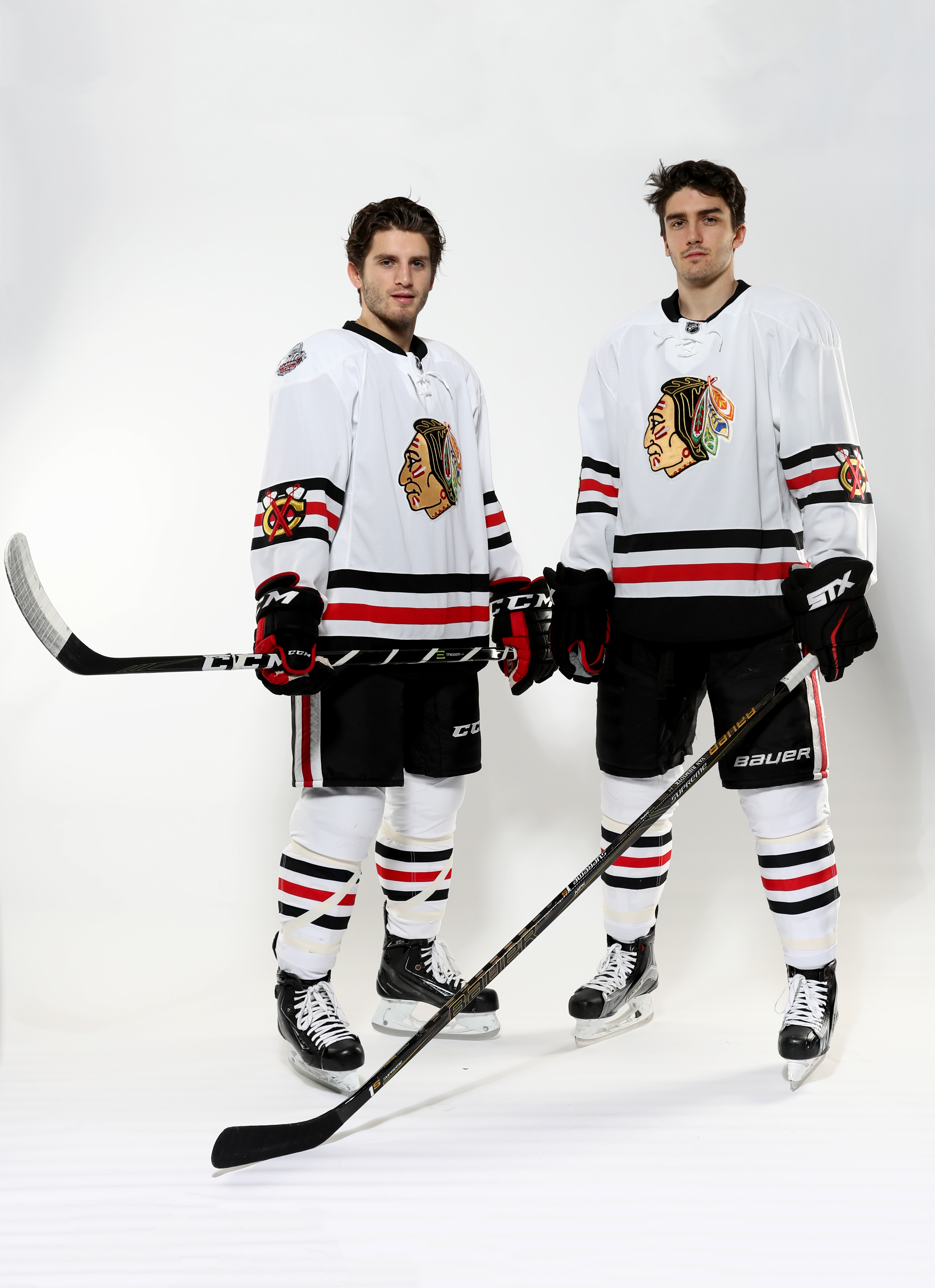 new arrival ec93c 839bc Blackhawks, Blues unveil Winter Classic jerseys - Sportsnet.ca