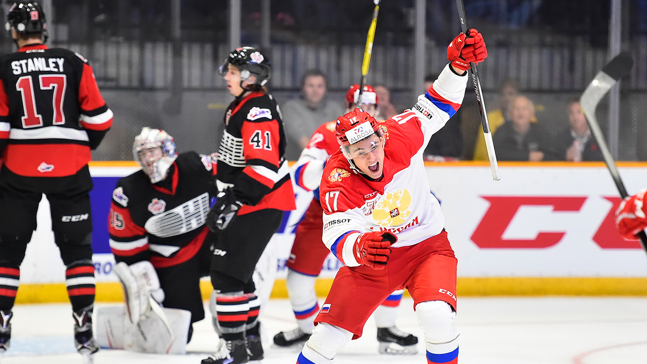 Team Russia Shows Grit In Game 3 Of The CIBC Canada Russia Series