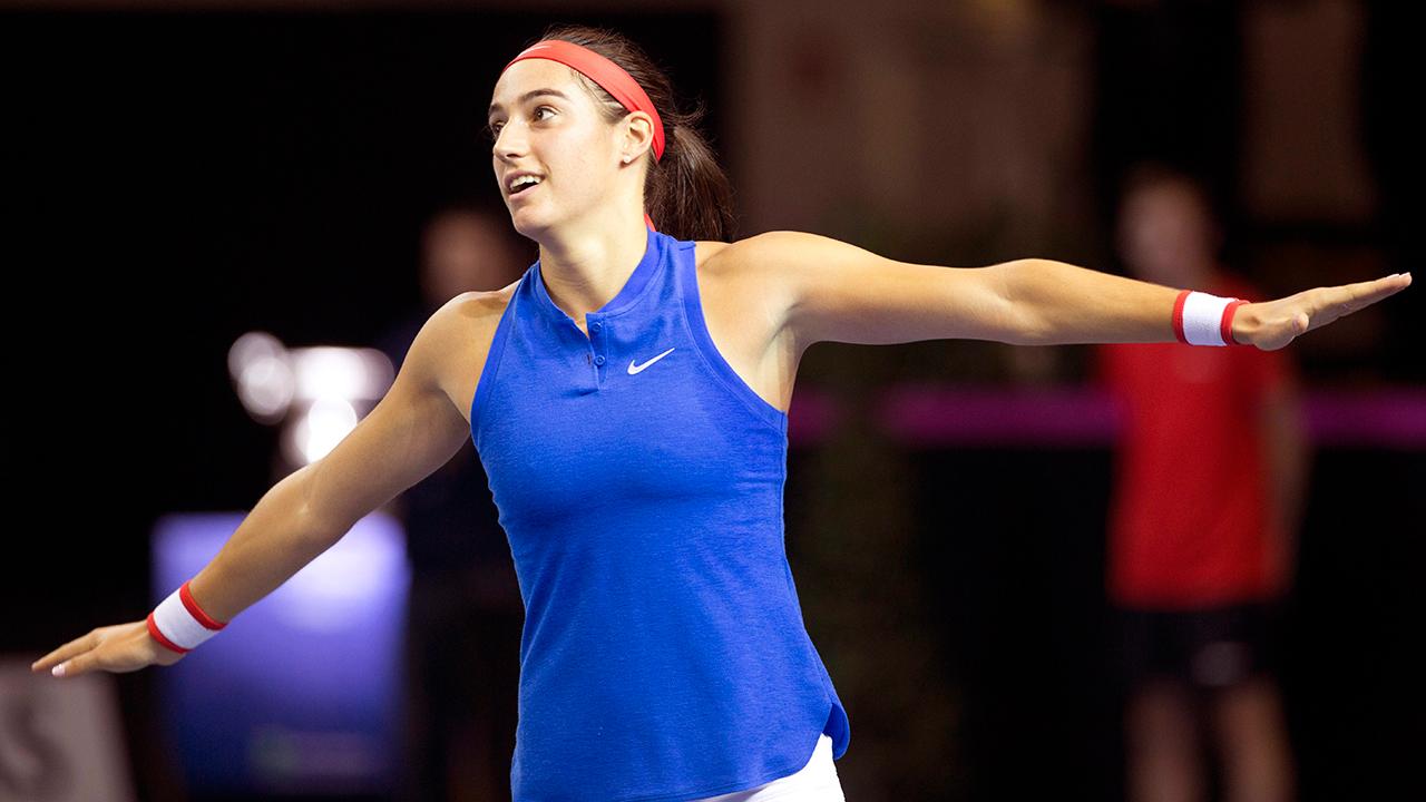 Garcia beats Kvitova to level Fed Cup Final - Sportsnet.ca