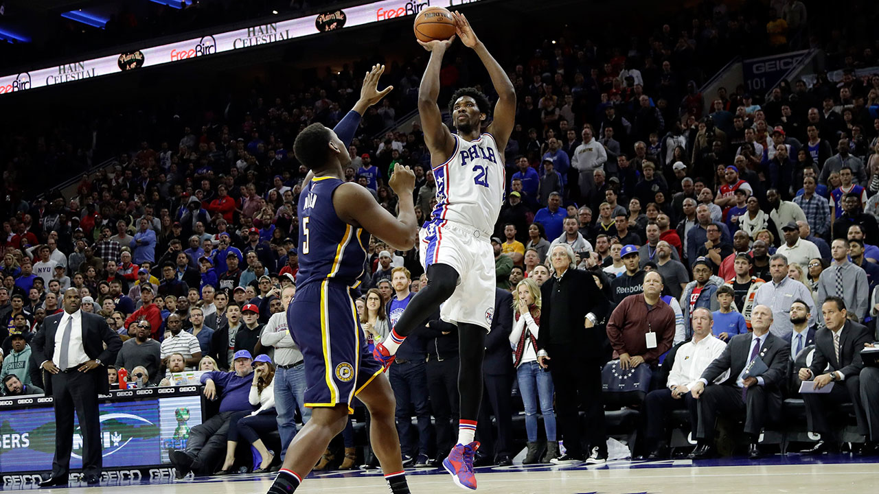 Embiid scores 25 to lead 76ers to first win - Sportsnet.ca
