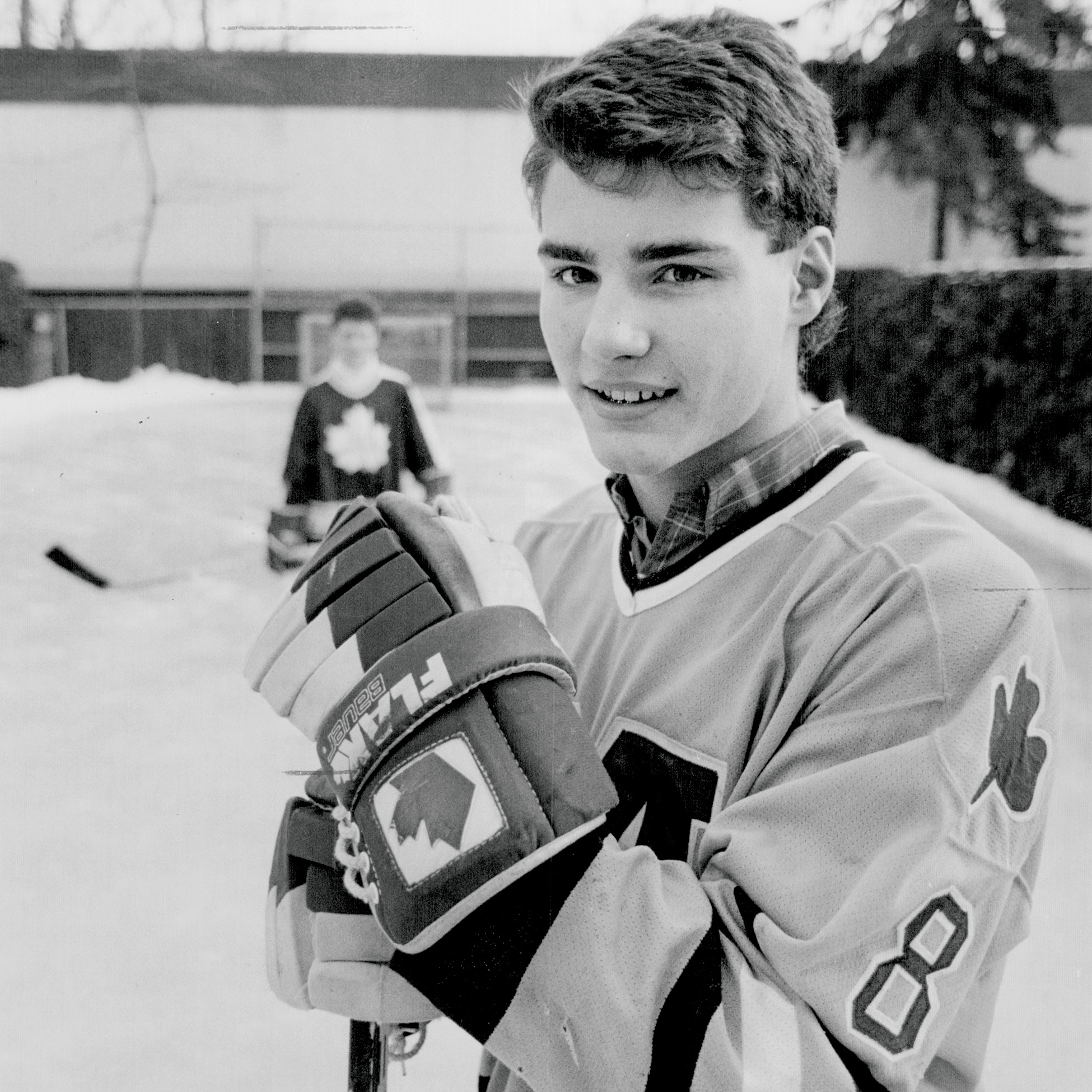Eric Lindros; St. Michael's Buzzers