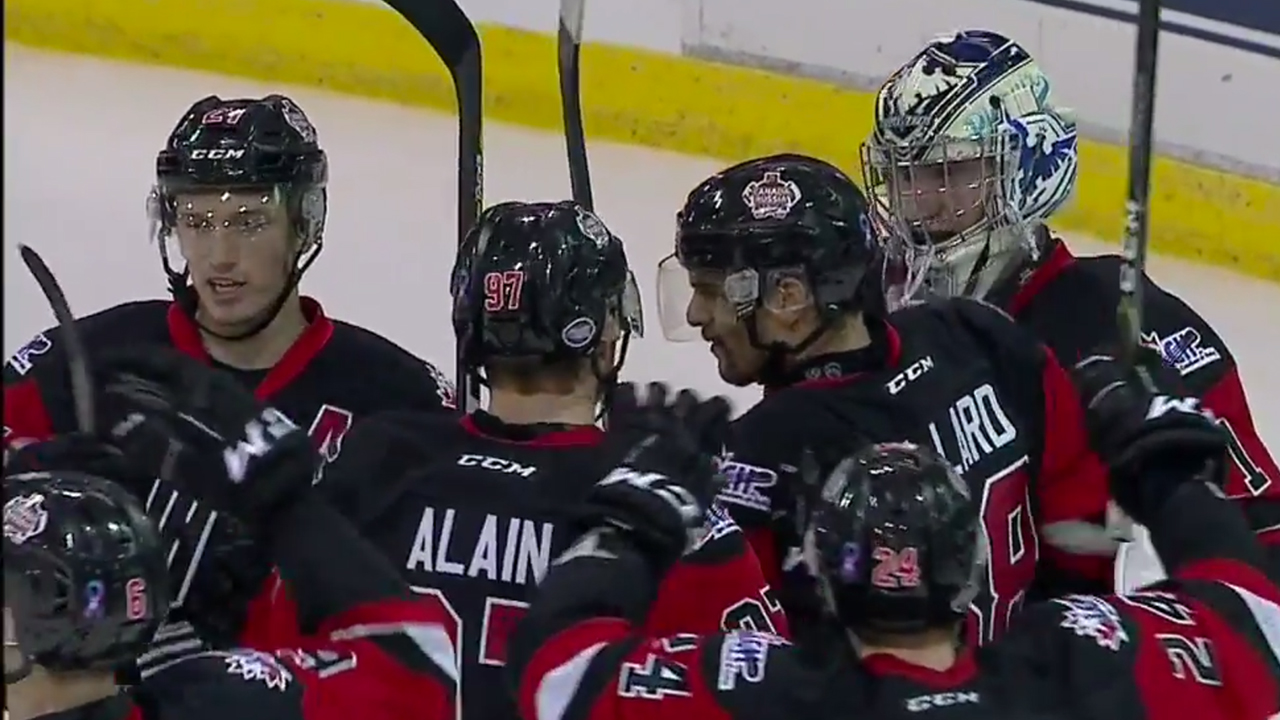 QMJHL: Comtois Scores Twice To Power League Past Russia In Game 6