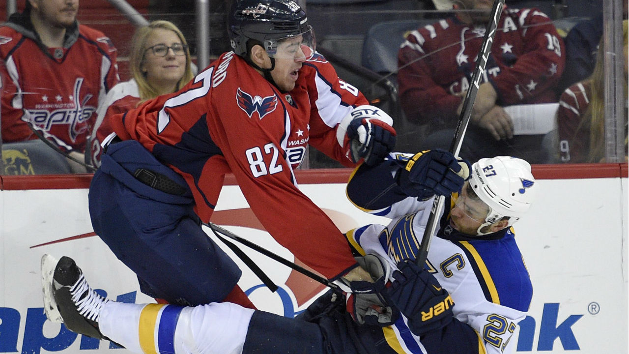 c3d0512e4ee Ovechkin s 16th hat trick sends Capitals to victory over Blues -  Sportsnet.ca