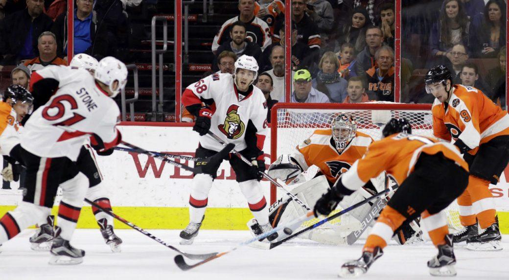Schenn scores in 3rd, Flyers beat Wild 3-2