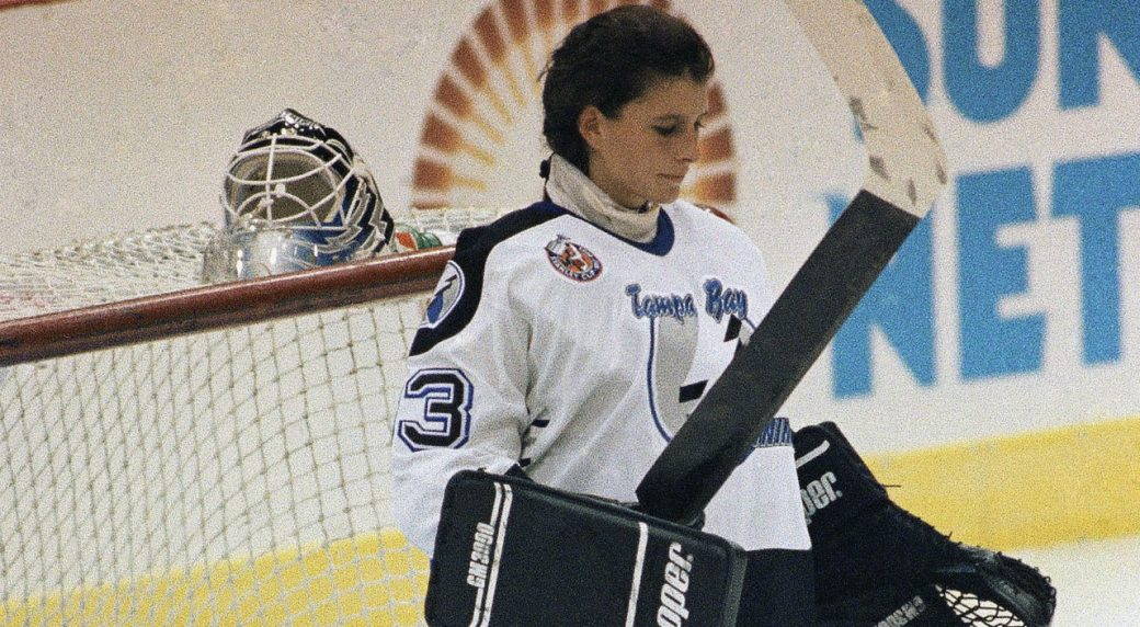 manon rheaume realizes her nhl debut was not just another game