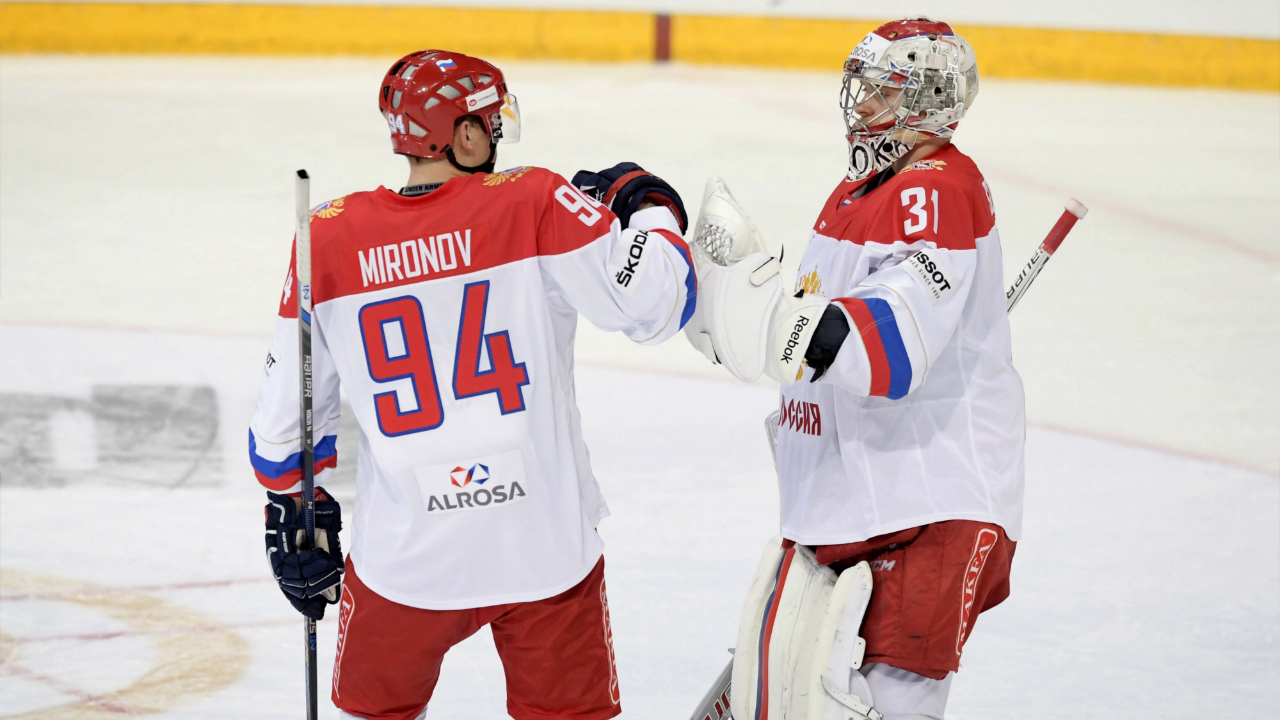 Alexeev The OT Hero As Russia Edges Team WHL