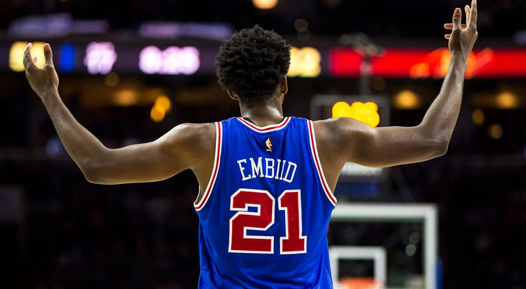 Joel Embiid not cleared for back-to-backs