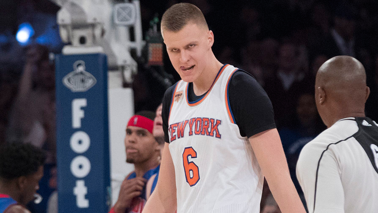 porzingis scores career high 35 as knicks edge pistons 24 hours news new york kristaps porzingis scored a career high 35 points and the new york knicks held on for a 105 102 victory over the detroit pistons on wednesday