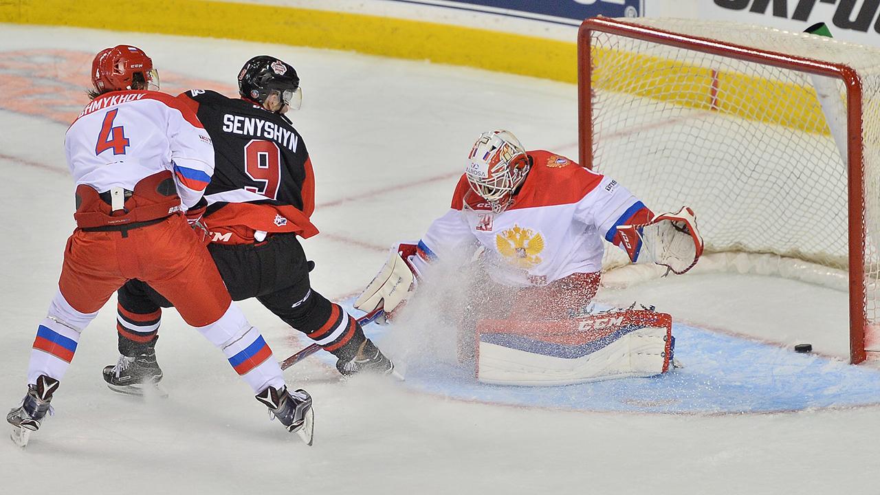 WJC: CIBC Canada-Russia Series - Senyshyn Boosts Stock For Tournament