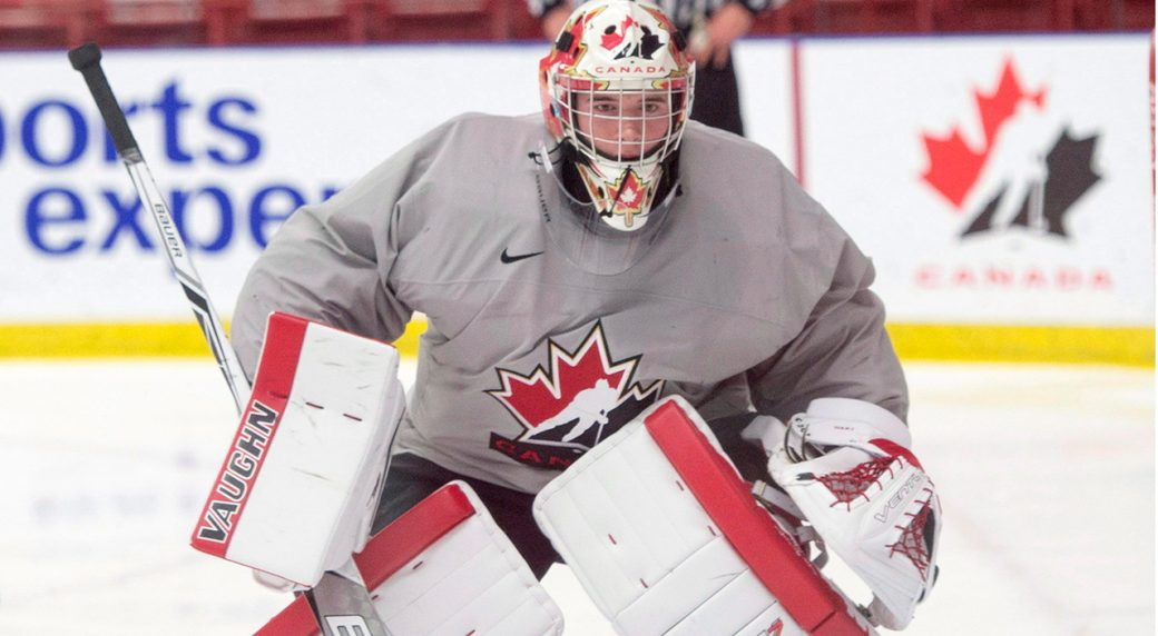 WJC: Goaltending Remains Canada's Biggest Concern Ahead Of Match With U.S.