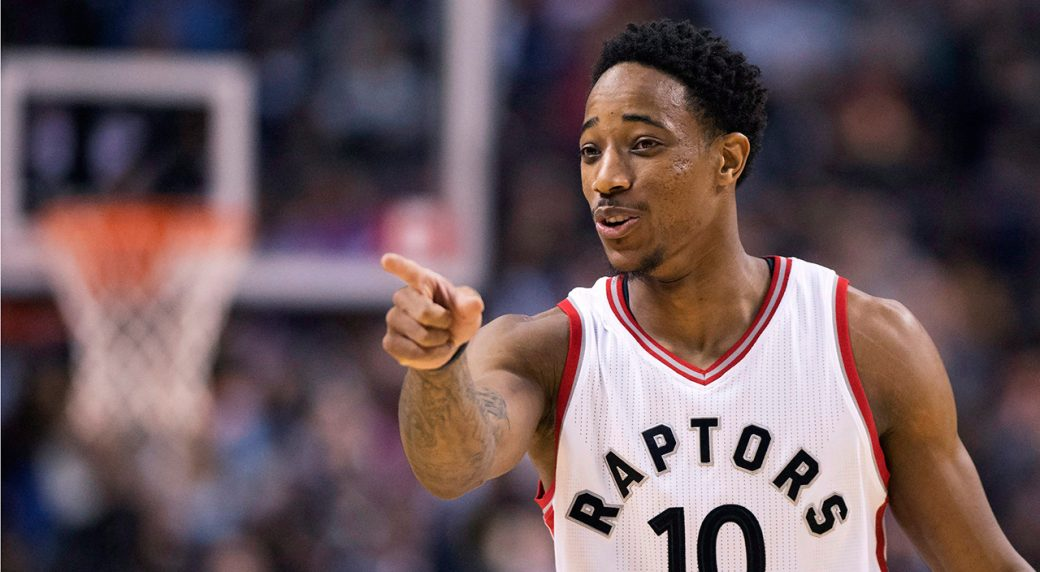 efb1b346334 Who should be named NBA's East and West All-Star starters. DeMar DeRozan