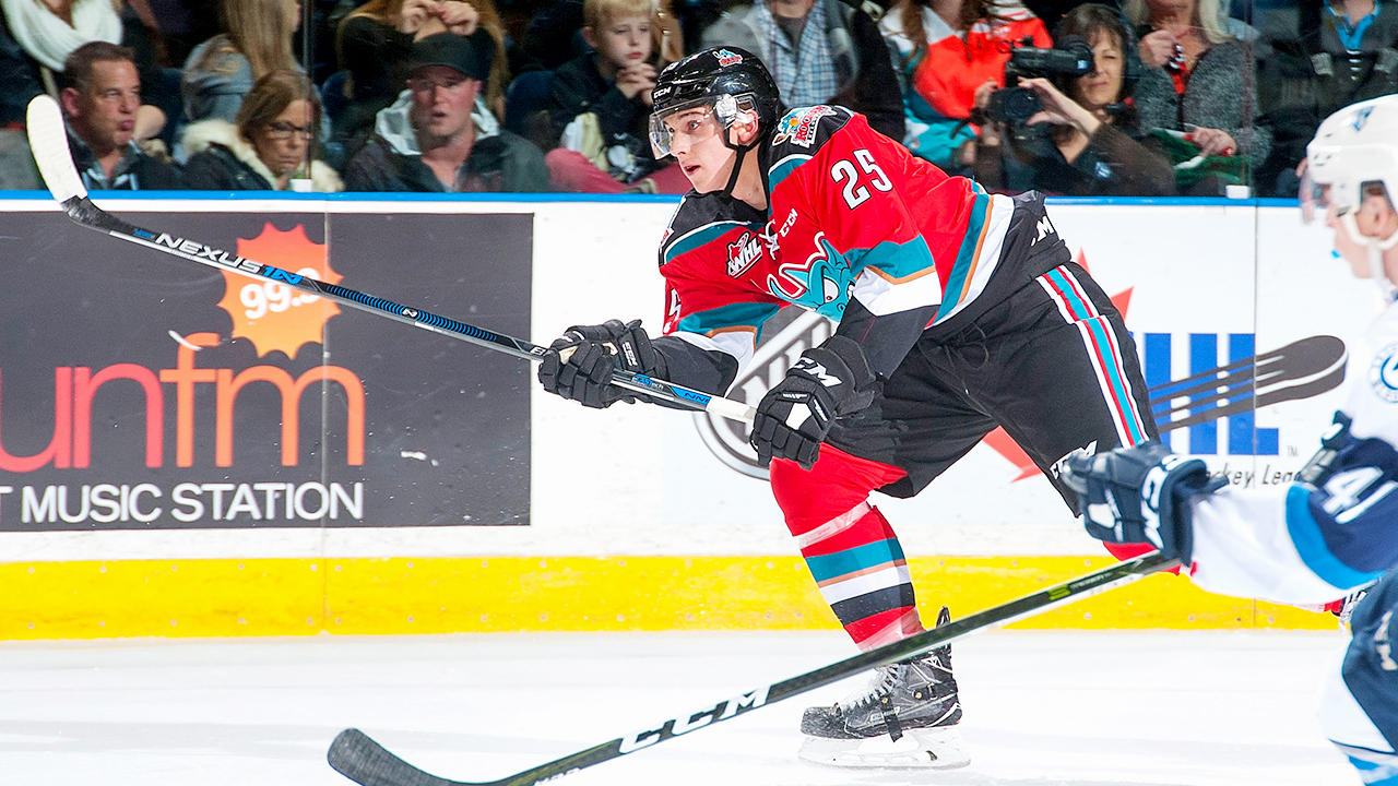 Cal Foote; Kelowna Rockets; WHL; CHL; 2017 NHL Draft