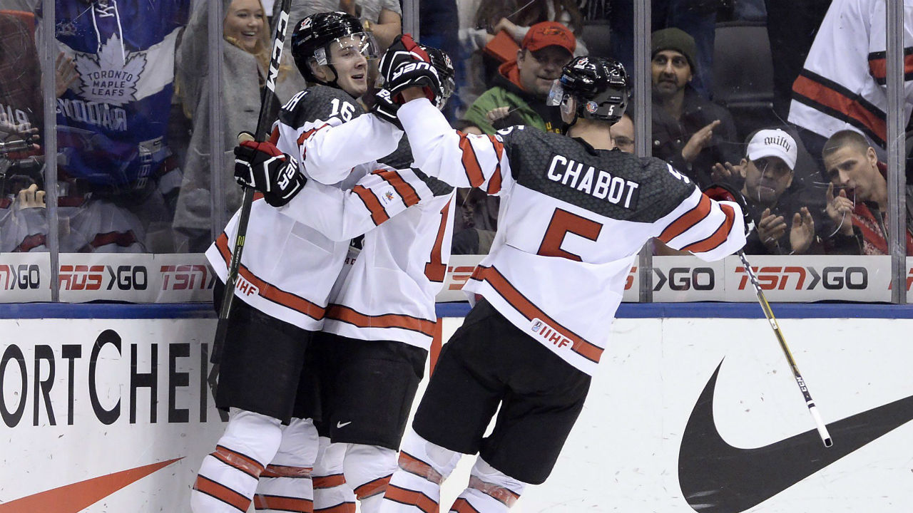 WJC: Canada Holds Slovakia To Six Shots In Easy Victory At Tournament