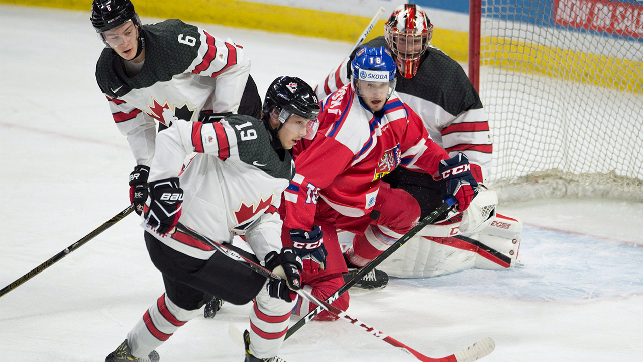 WJC: Canada-Czech Tournament Takeaways - Undrafted Myers A Horse On Defence