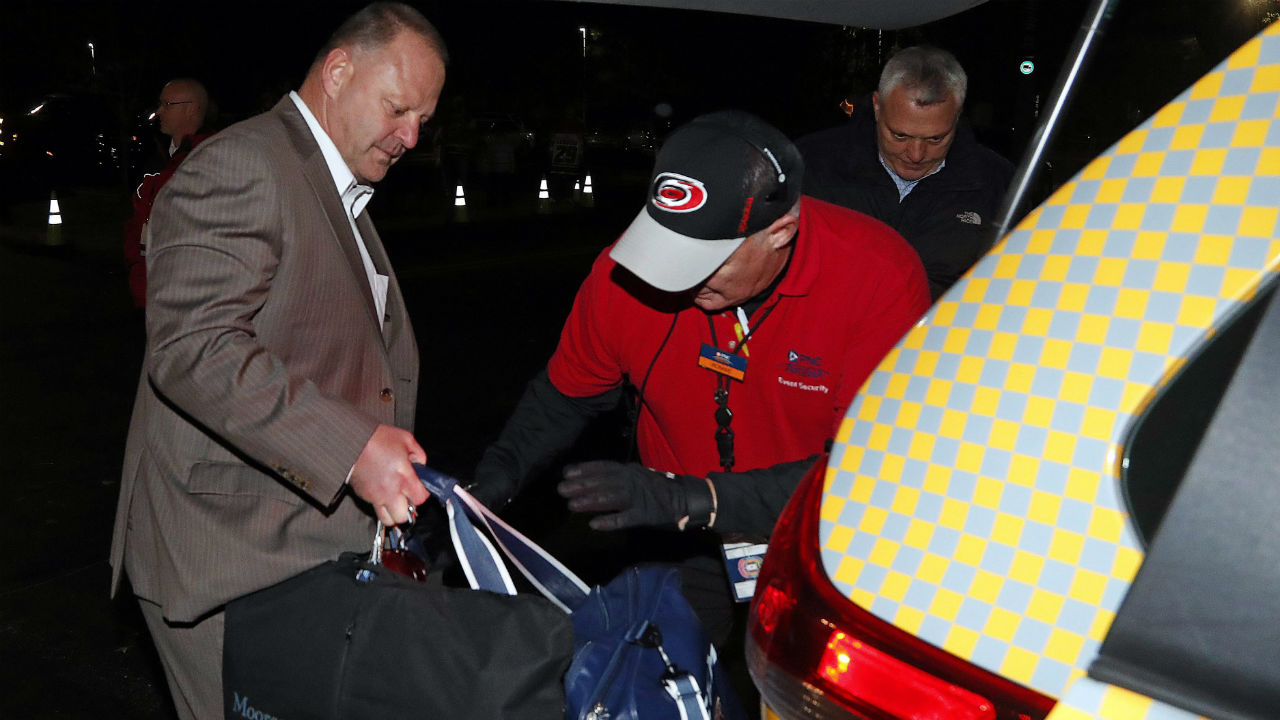 "<span style=""font-size: x-small;"">Gerard Gallant, former Florida Panthers head coach, gets into a cab after being relieved of his duties. (Karl B DeBlaker/AP)</span>"" width=""100%"" height=""720″ /> <span style=""font-size: x-small;"">Gerard Gallant, former Florida Panthers head coach, gets into a cab after being relieved of his duties. (Karl B DeBlaker/AP)</span></p> <p>He has two full seasons remaining on his contract, but will be a contender for just about any job opening.</p>  				  <div class="
