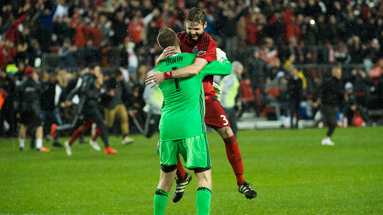 Veteran Moor closer to signing new deal with Toronto FC